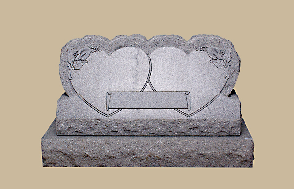 0300R Granite Grave Stone