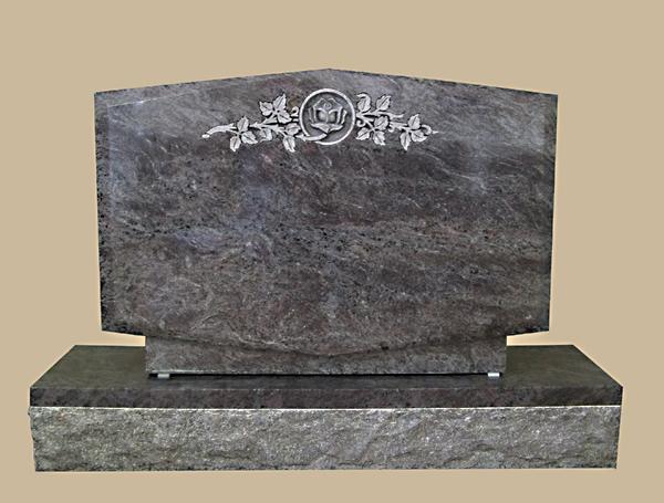 0305R Cemetery Gravestone