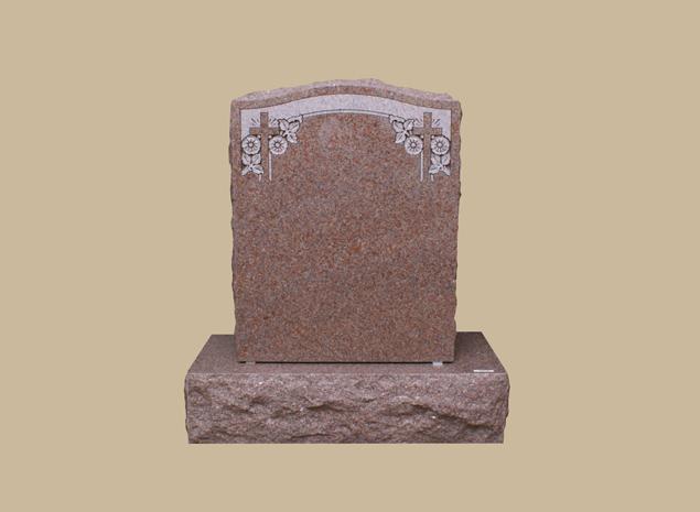 0306R Religious Grave Marker