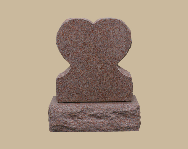 0309R children's upright grave marker