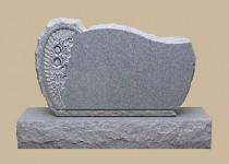0314R Upright Grave Marker