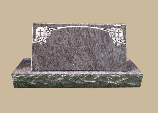 0293C Religious Grave Stone