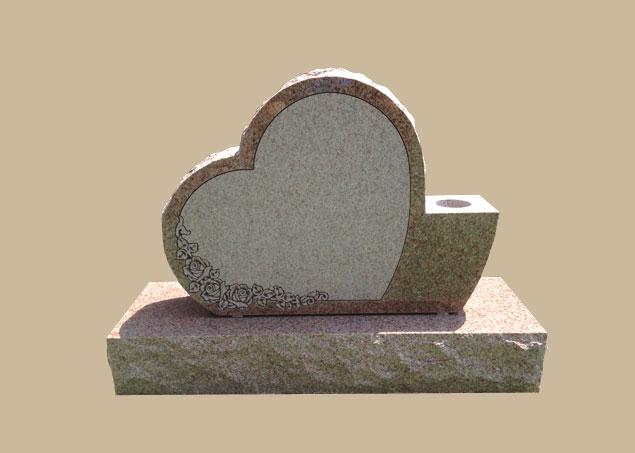 0298C upright memorial stone