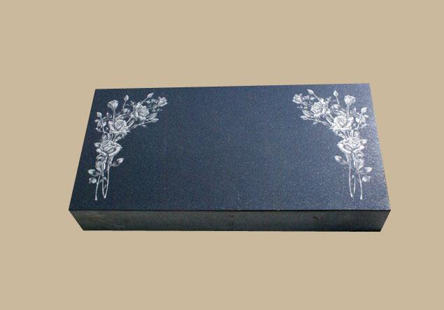 0262D Flat Marker for Gravesite