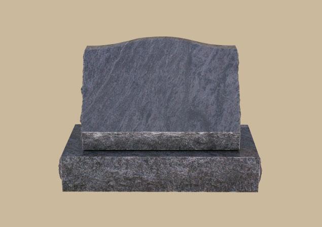 0263D Slanted Grave Stone