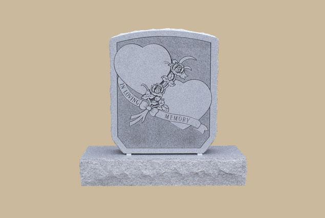 0264D Cemetery Gravestone