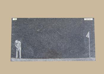 0142D Gravestone Flat Marker