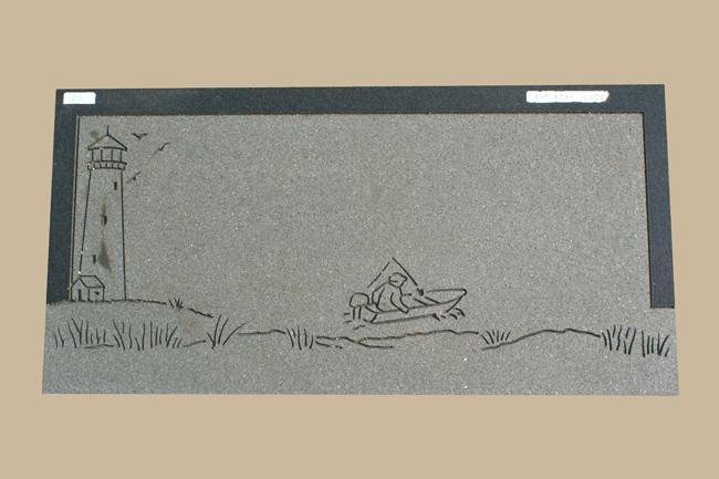 0070D Flat Marker for Gravesite